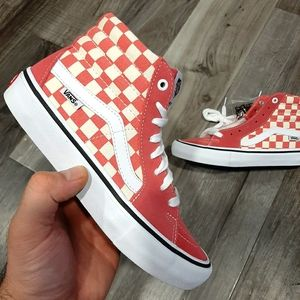Vans SK8 HI PRO Checker Men's Shoes 6.5/Women's 8